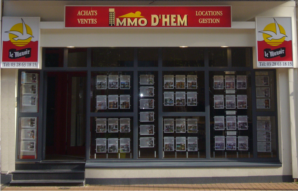 Agence immobiliere immodhem Malo les bains
